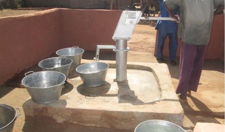 Directaid Water Projects Mali well 2 3