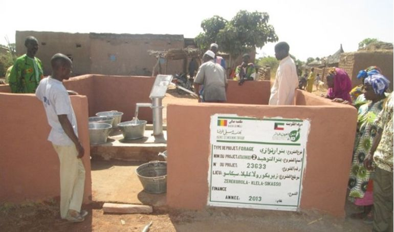 Directaid Water Projects Mali well 2 4