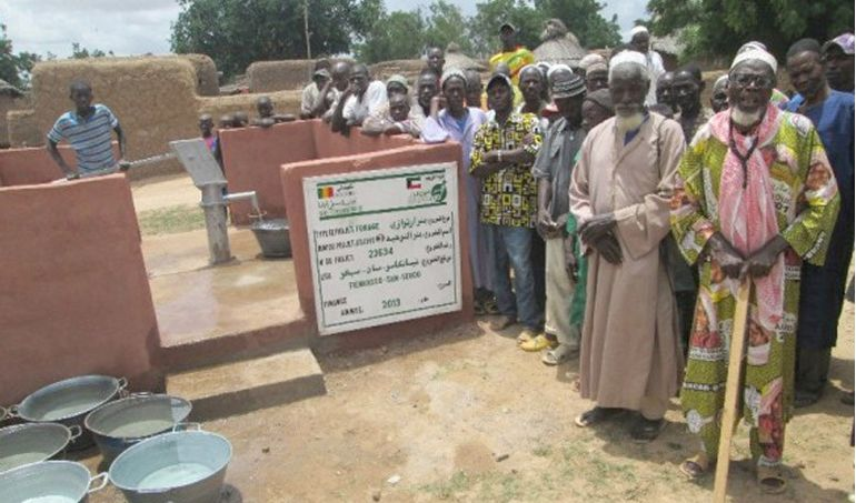 Directaid Water Projects Mali well 3 3