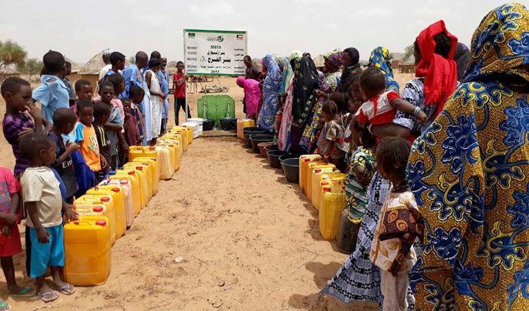 Directaid مشاريع المياه Al-Farah Well Third 5
