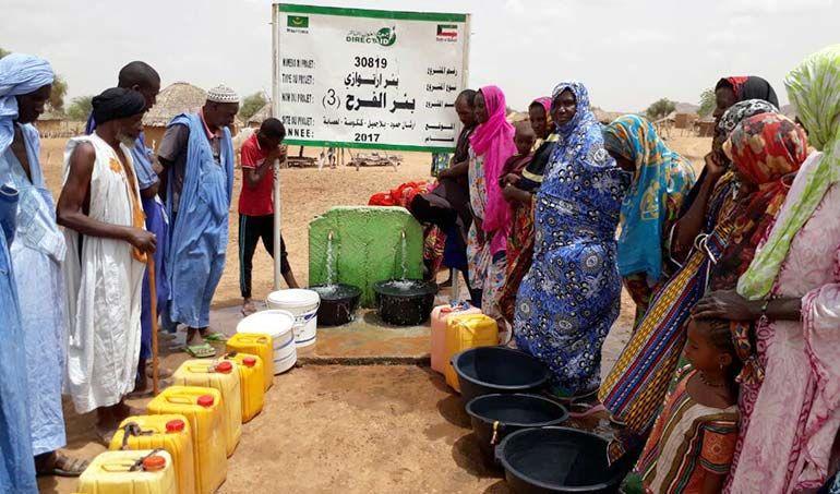 Directaid مشاريع المياه Al-Farah Well Third 6
