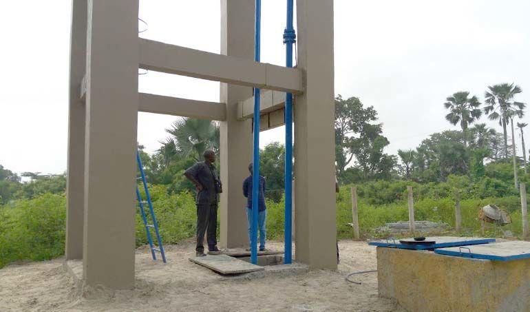 Directaid مشاريع المياه Umma Well 2