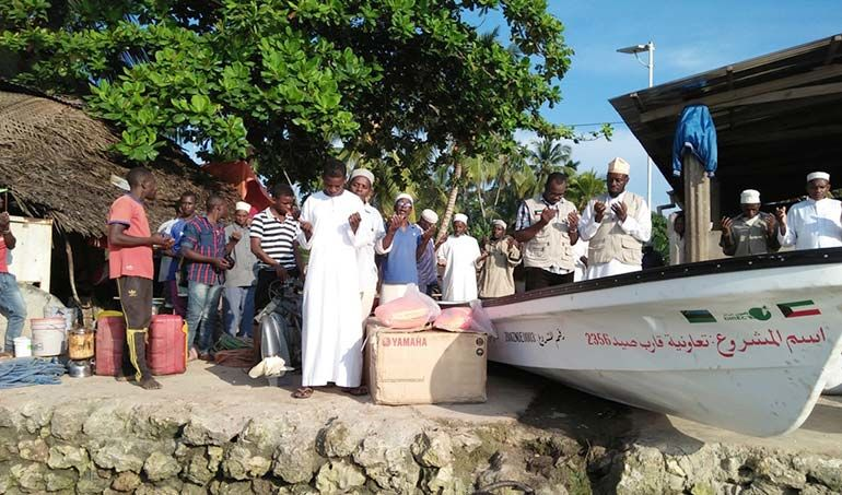 Directaid  stop destitution - a fishing boat project 1