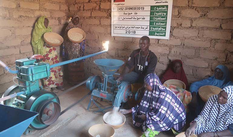 Directaid مشاريع التنمية Al-Sanabel Mill - 6 1