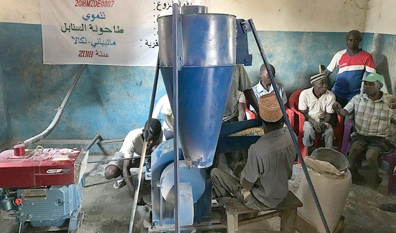 Directaid development Al-Sanabel Mill 1
