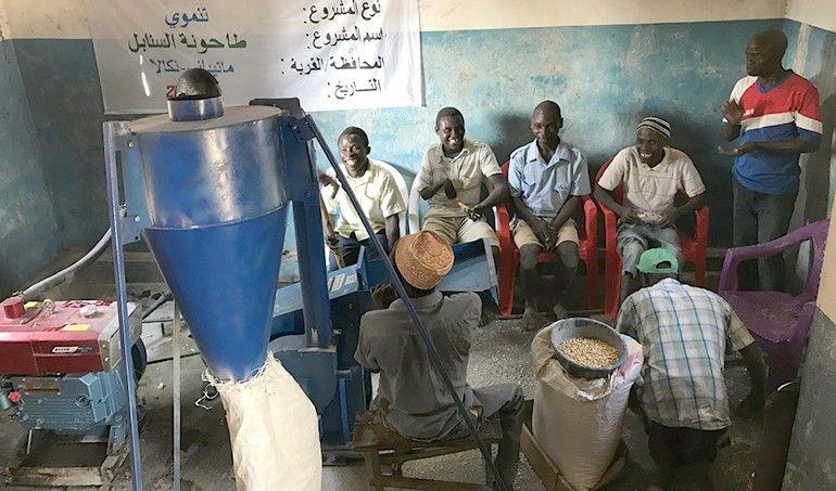 Directaid مشاريع التنمية Al-Sanabel Mill 2