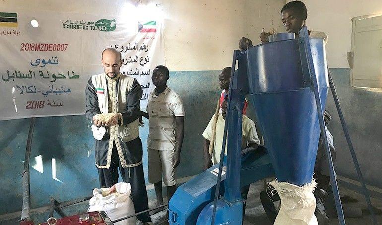 Directaid مشاريع التنمية Al-Sanabel Mill 4