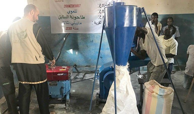 Directaid مشاريع التنمية Al-Sanabel Mill 5