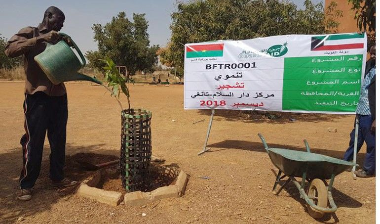 Directaid مشاريع التنمية Project Foresting - Burkinafaso 2