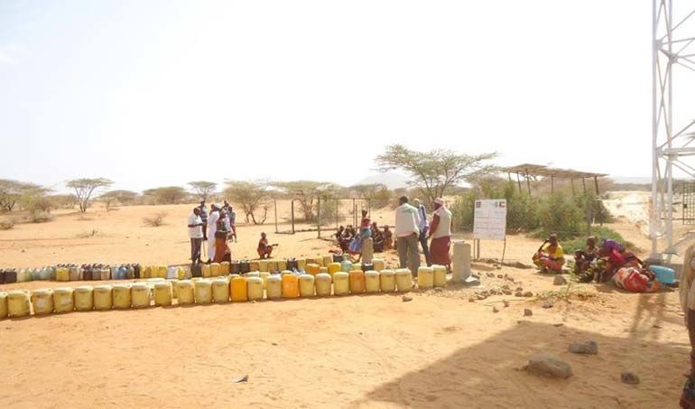 Directaid Water Projects Large Artesian Well - Kenya -Marsabit 5