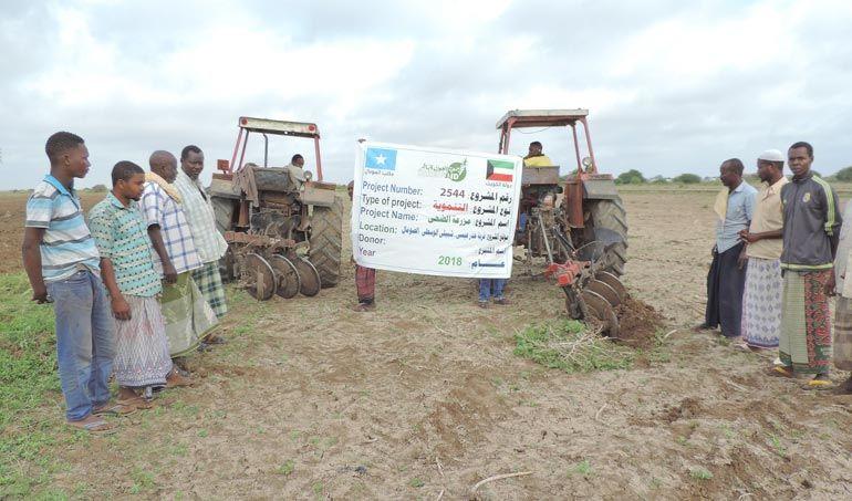 Directaid مشاريع التنمية Al-Duhaa Farm 2