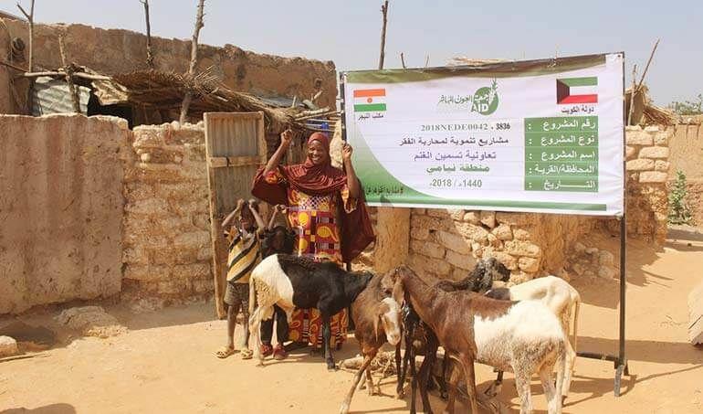 Directaid مشاريع التنمية Keep them from Destitution-5 8