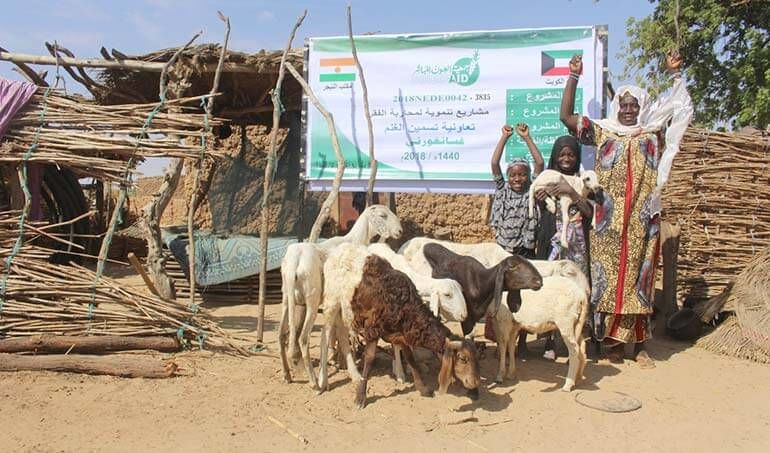 Directaid مشاريع التنمية Keep them from Destitution-5 32