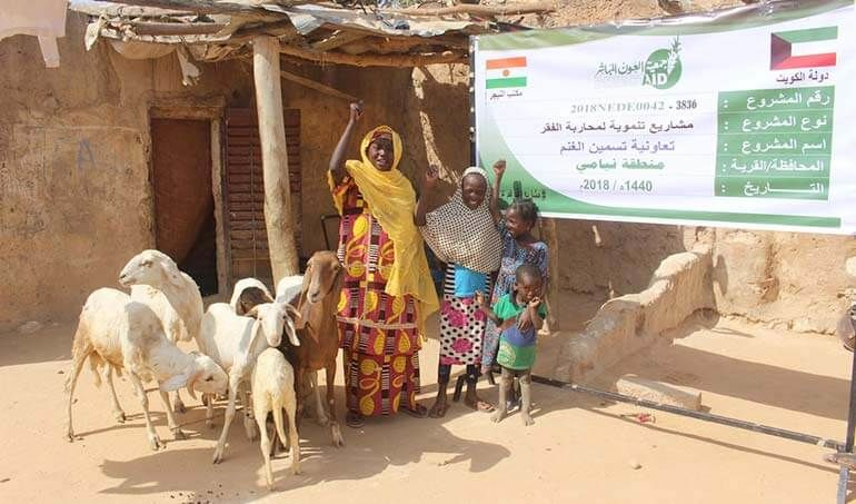 Directaid مشاريع التنمية Keep them from Destitution-5 6