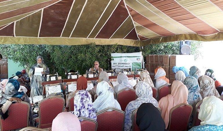 Directaid مشاريع التنمية Keep them from Destitution-Graduation March 2