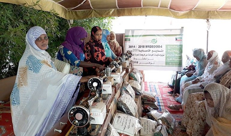 Directaid مشاريع التنمية Keep them from Destitution-Graduation March 6