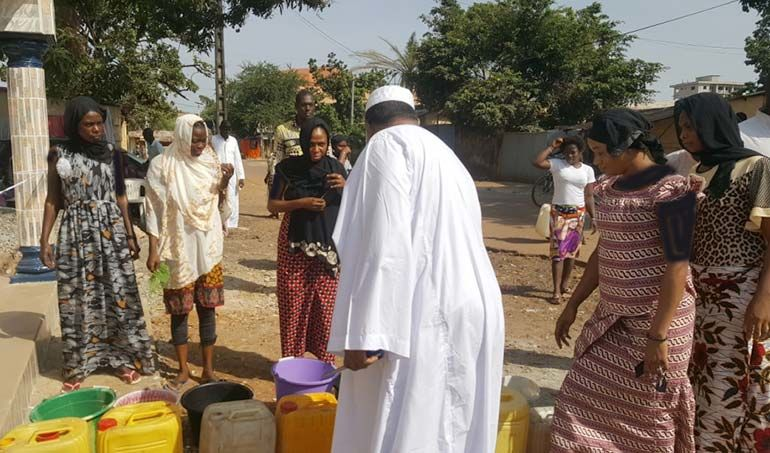Directaid Water Projects Africa  Artesian Well 2