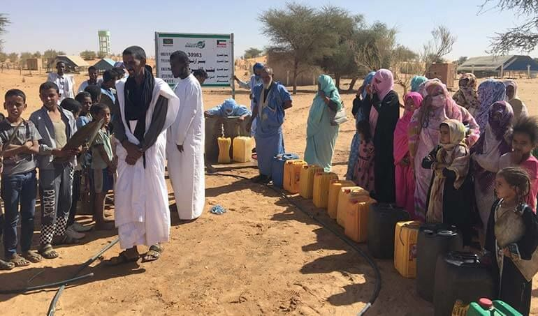 Directaid Water Projects Al-Farah Well Seventh 10