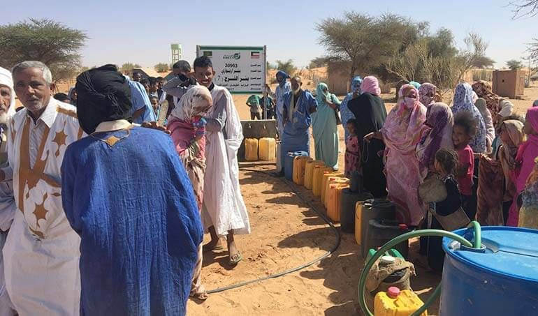 Directaid Water Projects Al-Farah Well Seventh 12
