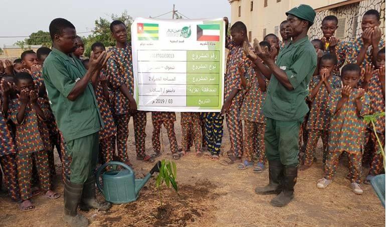 Directaid مشاريع التنمية Green Yard Project -2nd 6