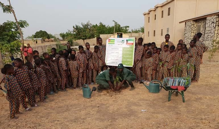 Directaid مشاريع التنمية Green Yard Project -2nd 8