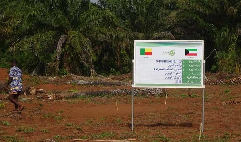 Directaid مشاريع التنمية Green Yard Project -3rd 24