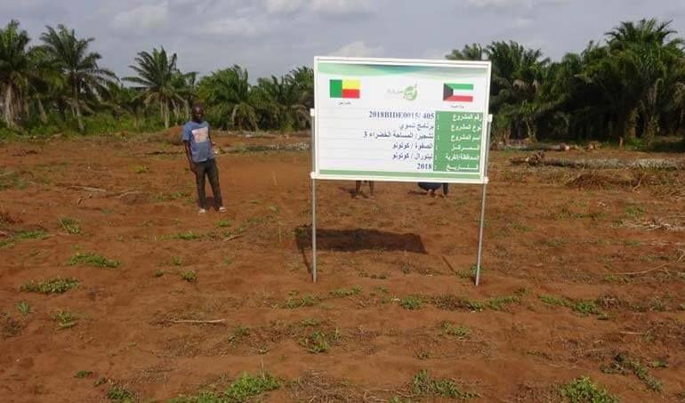 Directaid مشاريع التنمية Green Yard Project -3rd 28