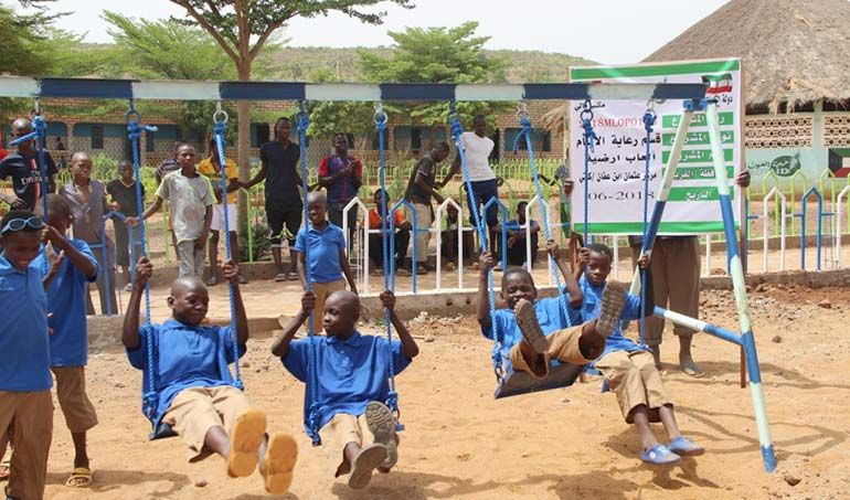 Directaid development Playgrounds for Mali Orphans 12