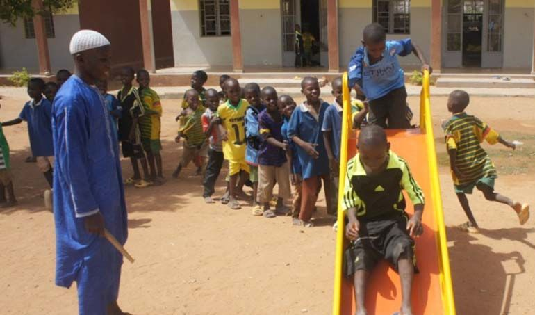 Directaid development Playgrounds for Mali Orphans 3