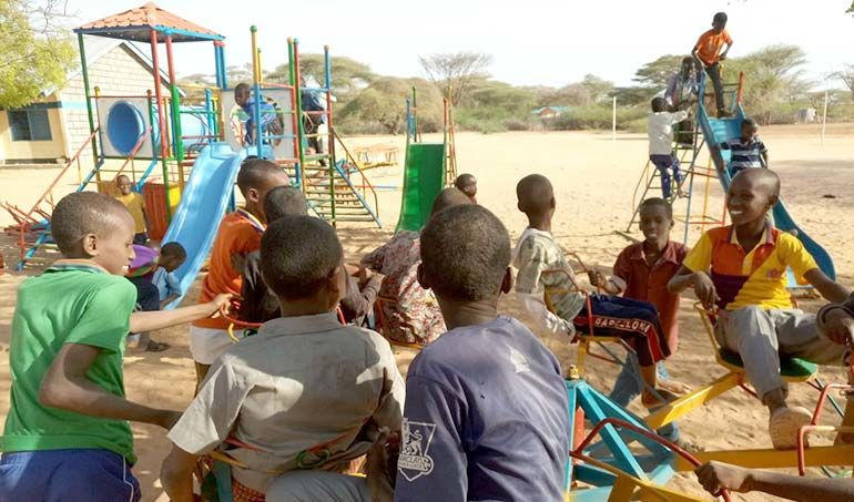 Directaid  Playgrounds for Mdogache Orphans 1