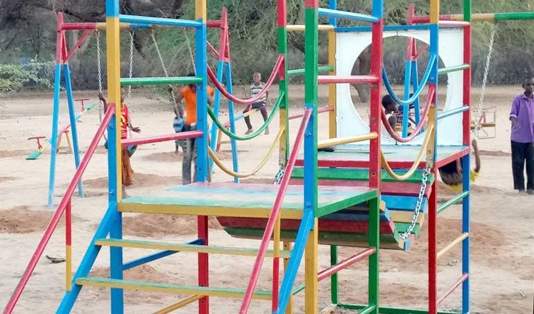 Directaid development Playgrounds for Mdogache Orphans 3