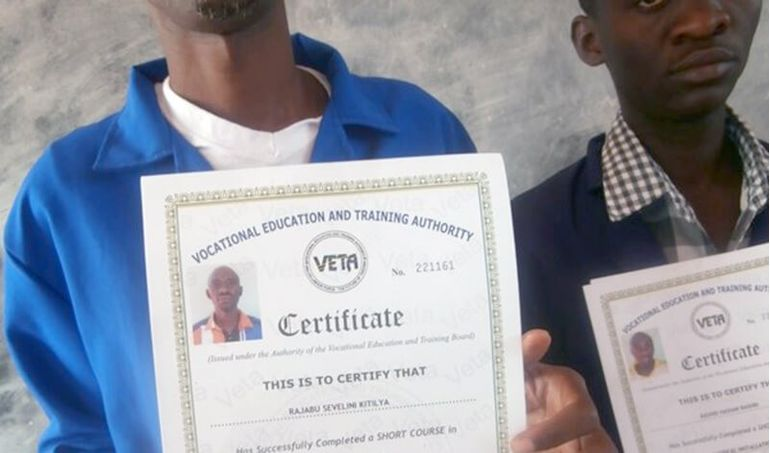 Directaid  Training courses for older from orphans -7 1