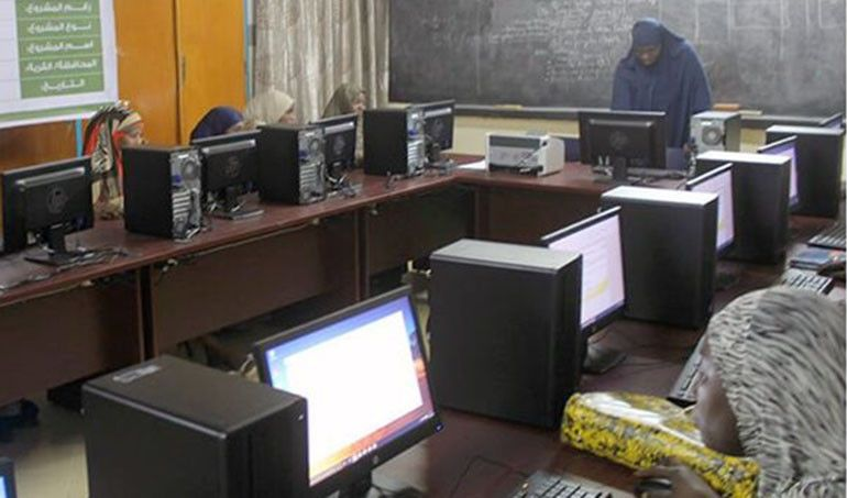 Directaid المشاريع التعليمية Start Project - Preparation of computer center 1