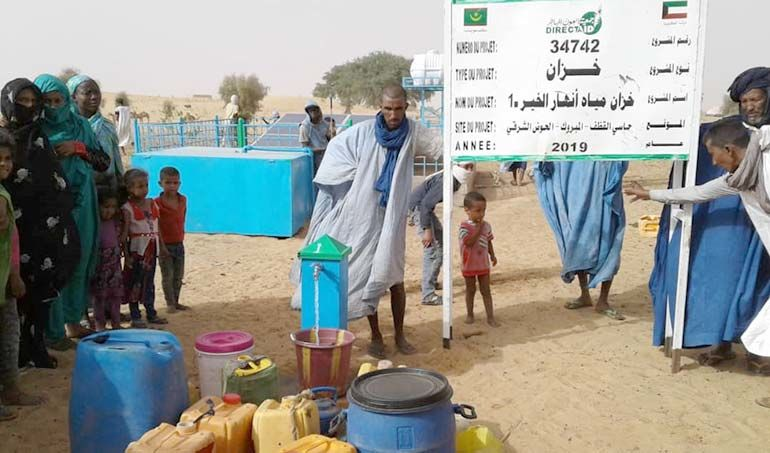 Directaid Water Projects 1- Anhar Al-Khair Water Tank 1