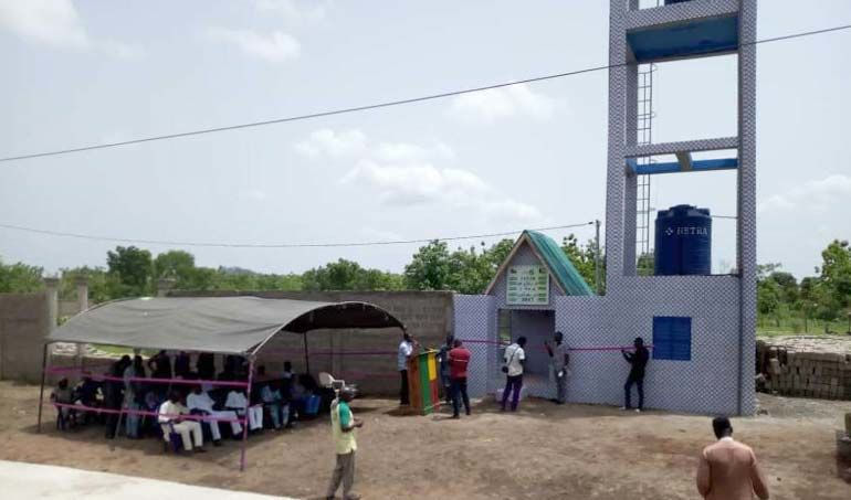 Directaid Water Projects Arafah well 1