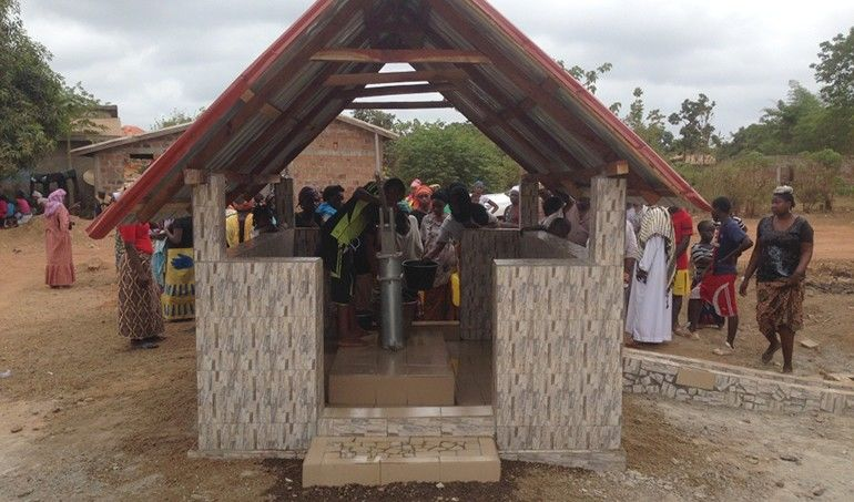 Directaid Water Projects Ghars well-2 1