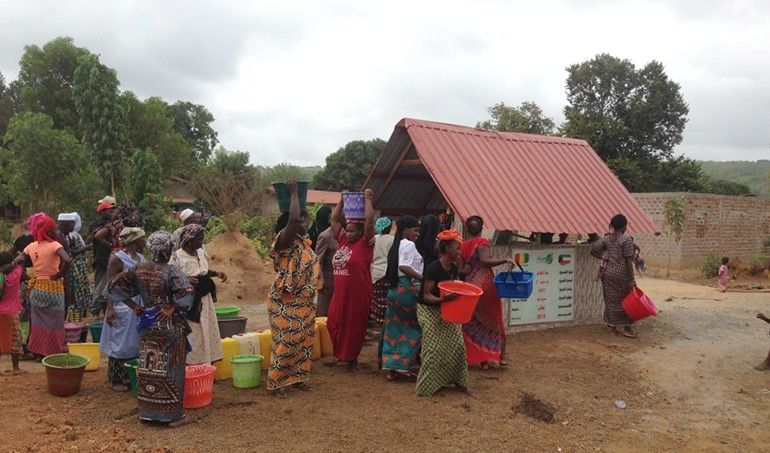 Directaid Water Projects Ghars well-2 3