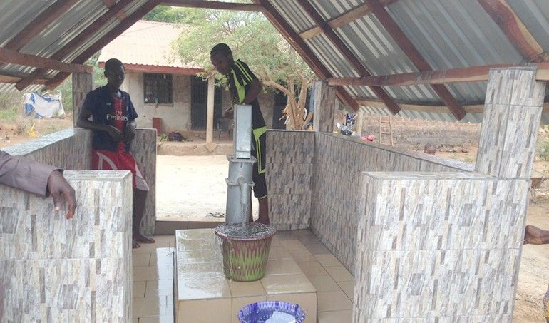 Directaid Water Projects Ghars well-2 5