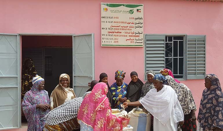 Directaid مشاريع التنمية Bank of Grain - Ihsan 2