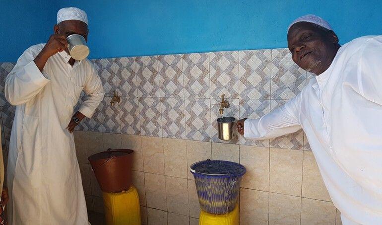 Directaid مشاريع المياه AL - Hayat Well 11