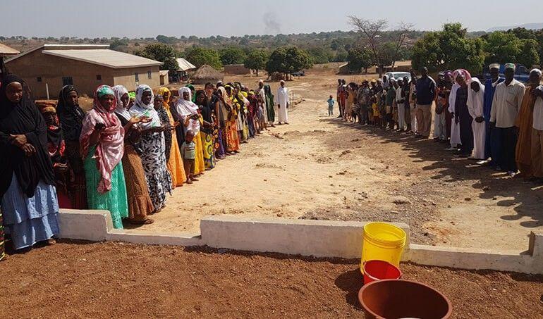 Directaid مشاريع المياه AL - Hayat Well 17