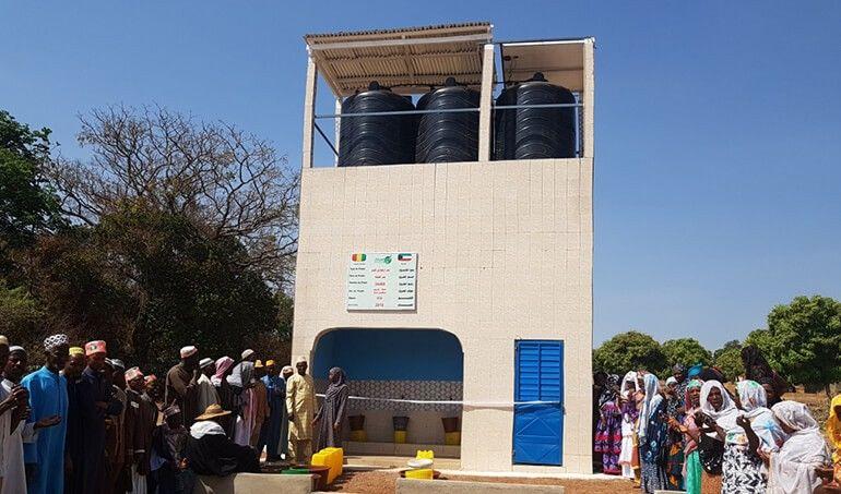 Directaid مشاريع المياه AL - Hayat Well 18