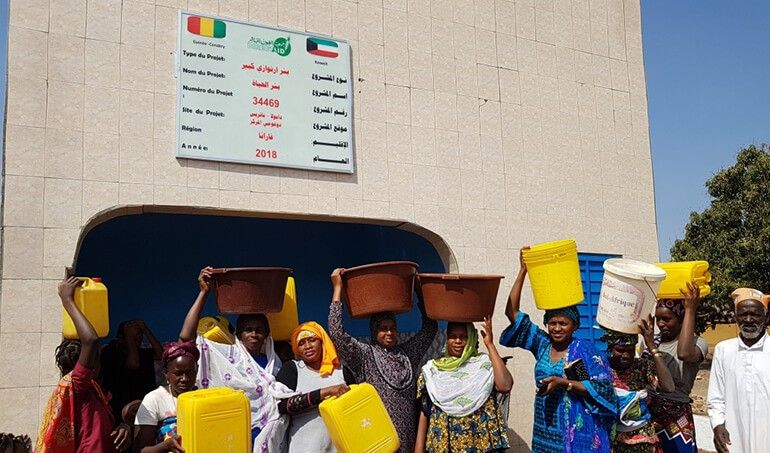Directaid مشاريع المياه AL - Hayat Well 1