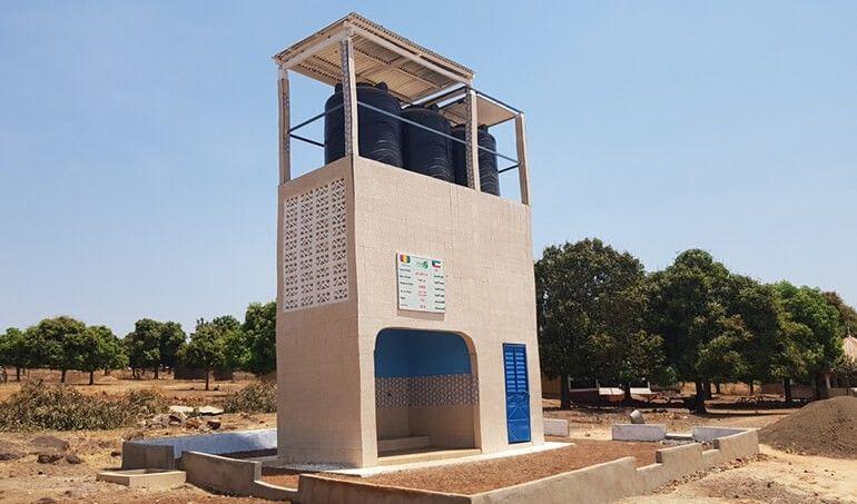Directaid مشاريع المياه AL - Hayat Well 20