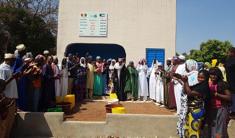 Directaid مشاريع المياه AL - Hayat Well 7