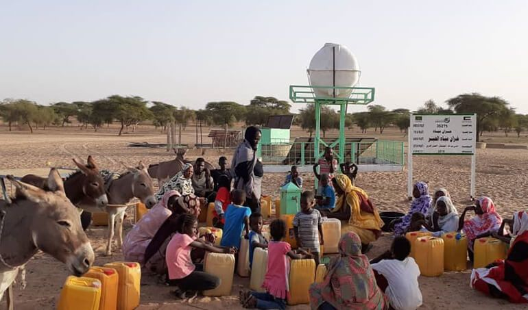 Directaid Water Projects Al-Khainr Water Tank 1