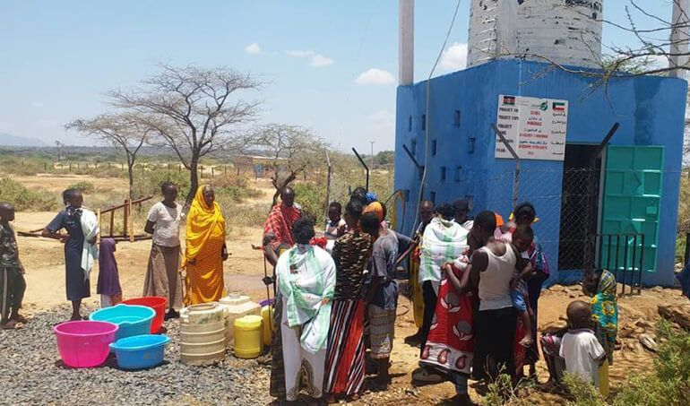 Directaid Water Projects Al-Saalihin Well - 2 9