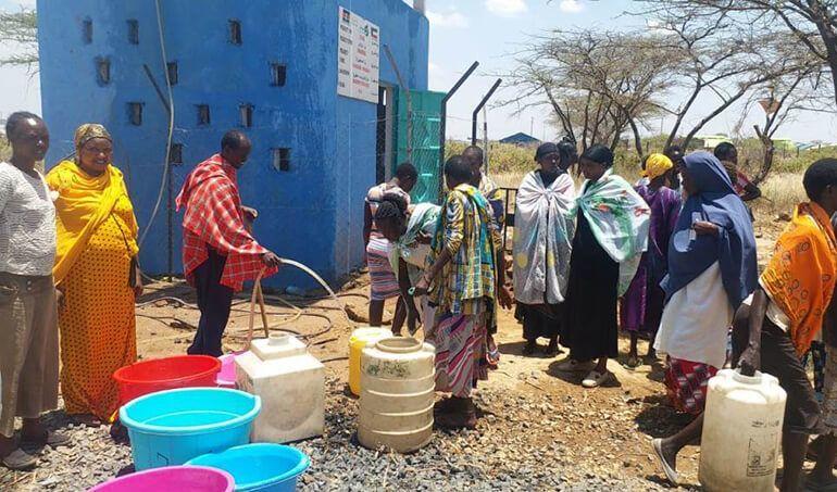 Directaid Water Projects Al-Saalihin Well - 2 12