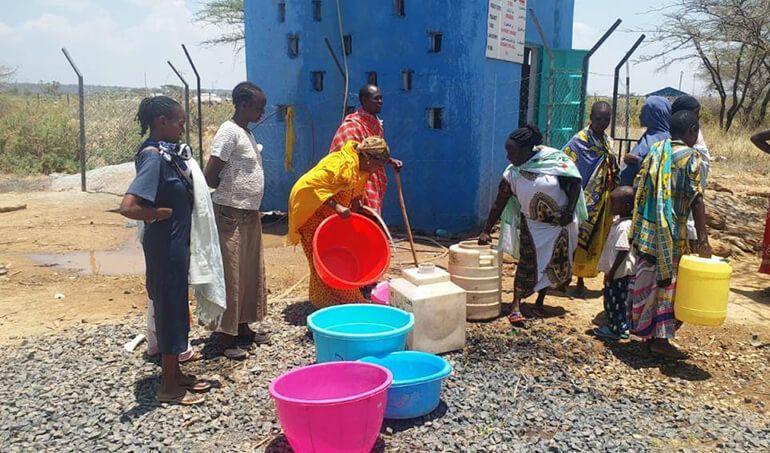 Directaid Water Projects Al-Saalihin Well - 2 13