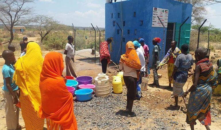 Directaid Water Projects Al-Saalihin Well - 2 2